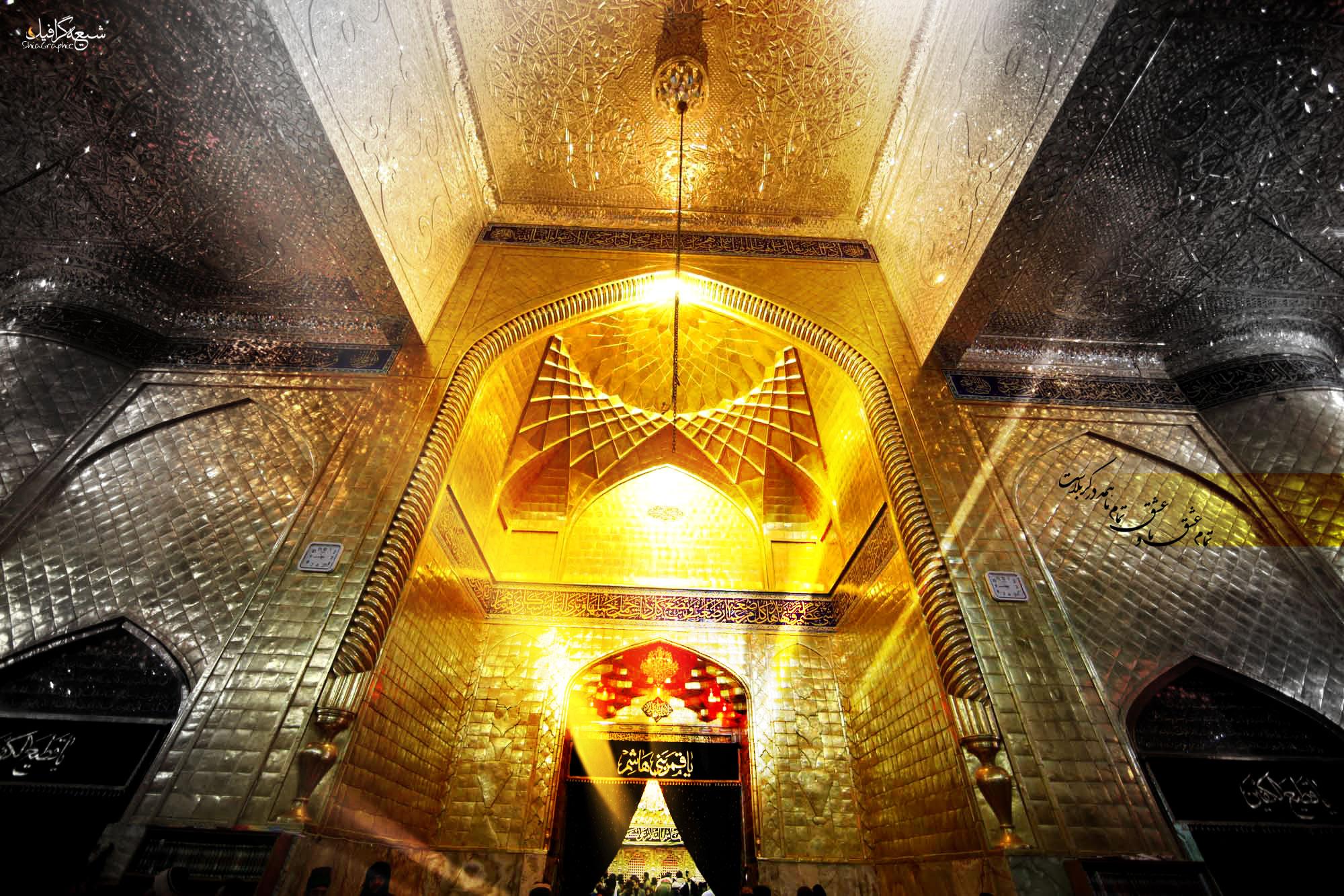 عکس واقعی حضرت عباس در کربلا